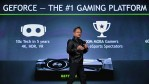 Nvidia Founder, President and CEO Jen-Hsun Huang delivers a keynote address at CES 2017 at The Venetian Las Vegas on January 4, 2017 in Las Vegas, Nevada.