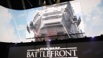 EA DICE introduces 'Star Wars Battlefront' during the Sony E3 press conference at the L.A. Memorial Sports Arena on June 15, 2015 in Los Angeles, California.