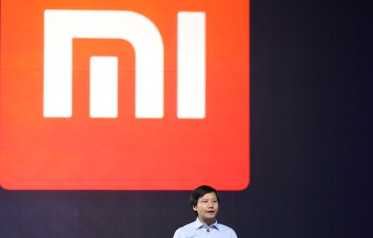 Xiaomi CEO Lei Jun speaks during a product launch on May 15, 2014 in Beijing, China.