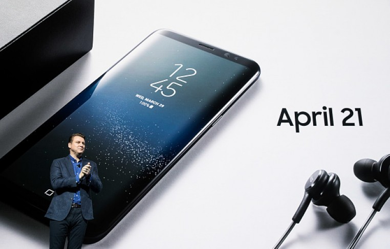 Justin Denison, senior vice president of product strategy at Samsung, speaks about the new features on the Samsung Galaxy S8.