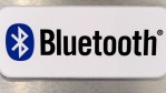 A sign for Bluetooth is displayed at the JVC booth at the 2012 International Consumer Electronics Show at the Las Vegas Convention Center January 12, 2012 in Las Vegas, Nevada.