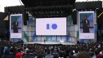 Google CEO Sundar Pichai delivers the keynote address at the Google I/O 2017 Conference at Shoreline Amphitheater on May 17, 2017 in Mountain View, California.